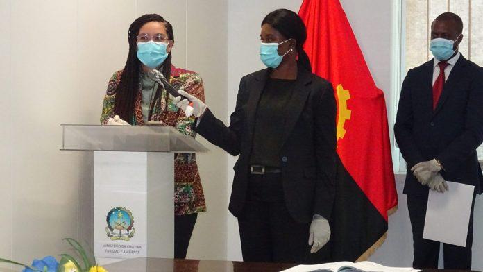 Ministra da Cultura, Turismo e Ambiente confere posse aos novos quadros
