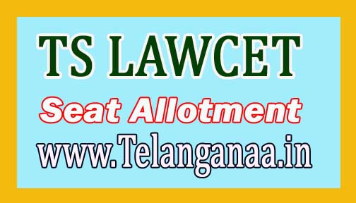 TS LAWCET Final Phase Seat Allotment 2018 Download