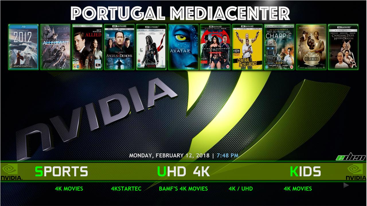 Kodi Nvidia Shield Build - PORTUGAL MEDIACENTER