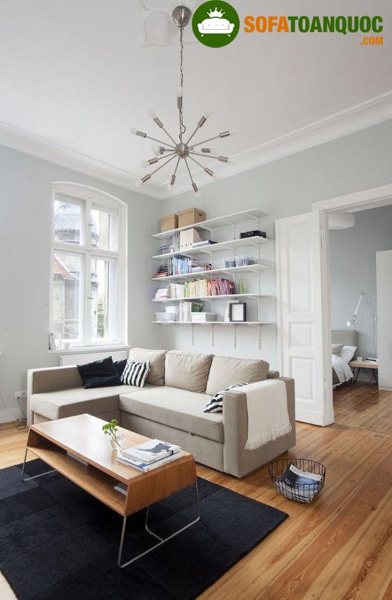 chọn bộ ghế sofa góc đẹp cho phòng khách