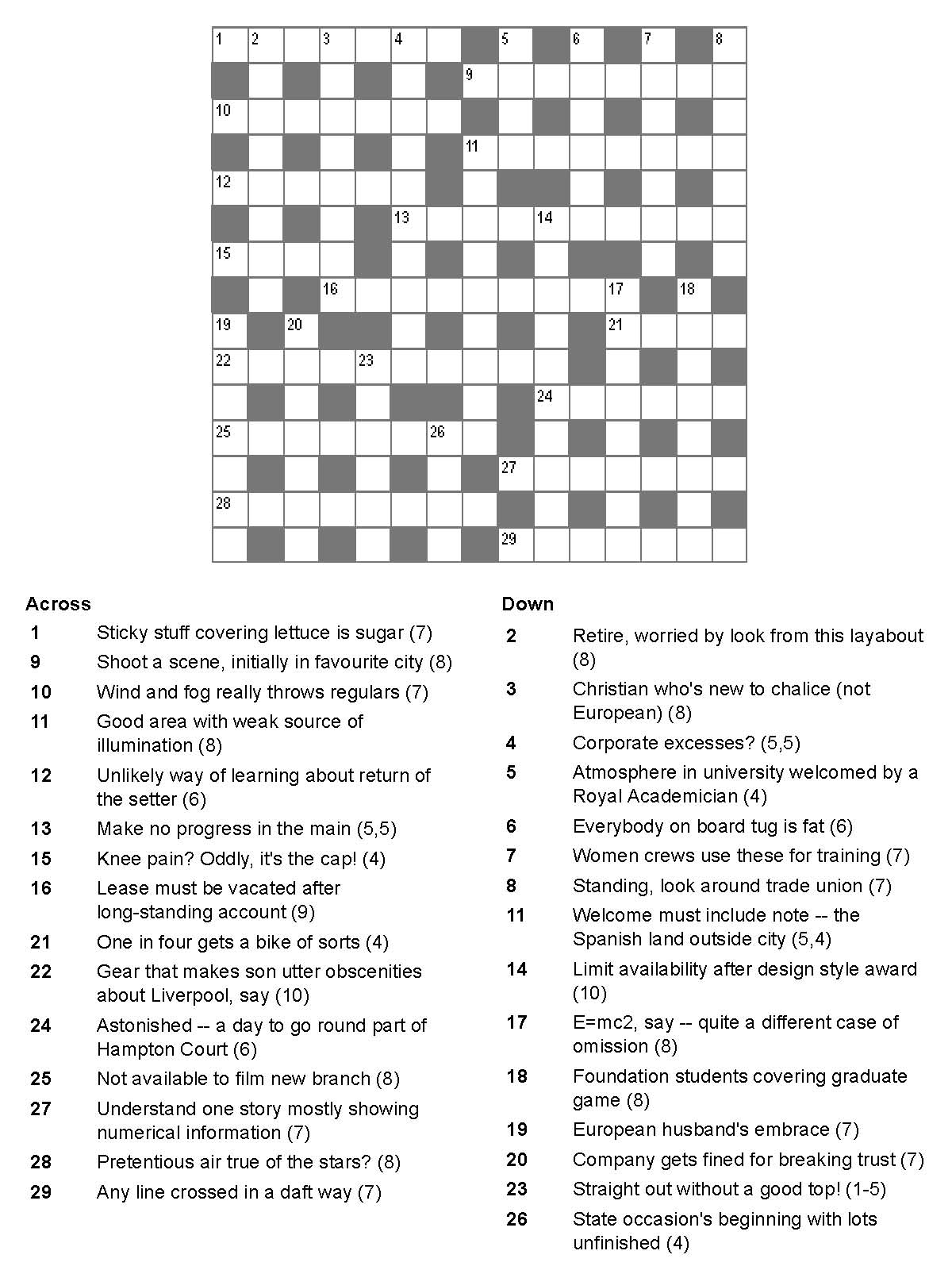 National Post Cryptic Crossword Forum: Monday, July 13