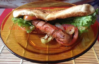Foto Resep Hot Dog Bun Sosis Sapi Sederhana Spesial Asli Enak Buatan Sendiri Ala Rumahan (Homemade)