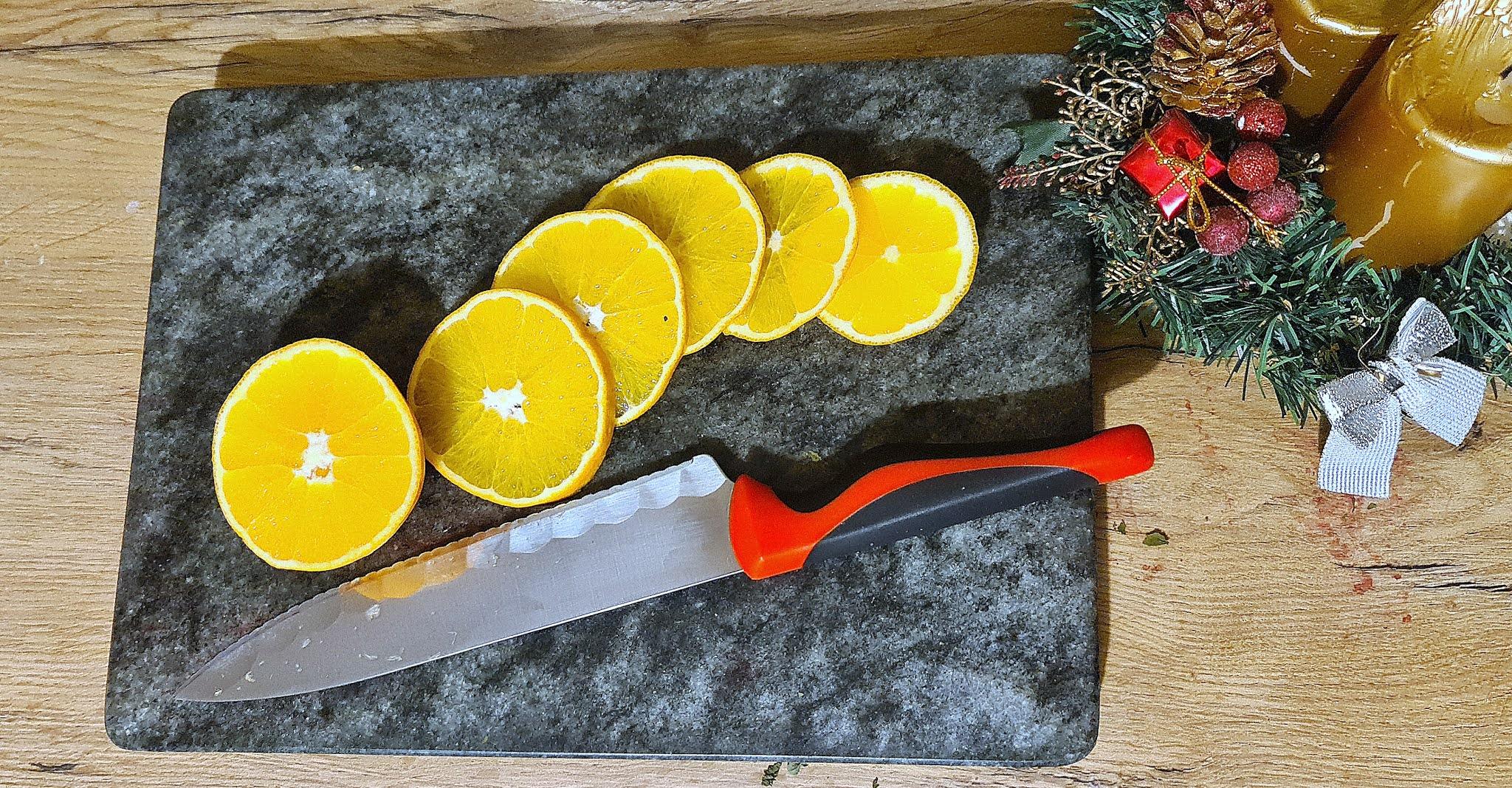 Suszone pomarańcze - krok po proku