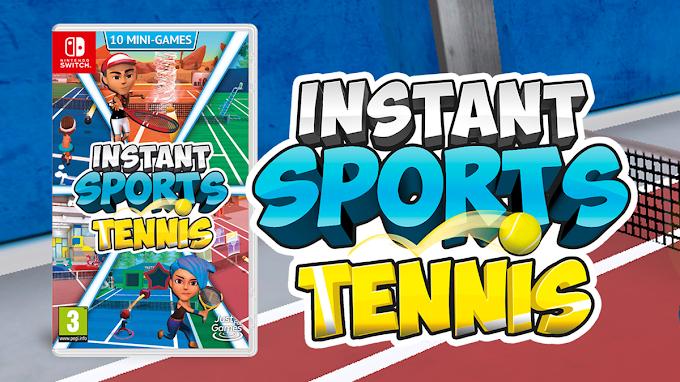 El 14 de mayo llega 'Instant Sports Tennis' en formato físico a Nintendo Switch