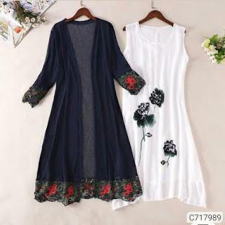 Women's Cotton Linen Shrugs with Inner
