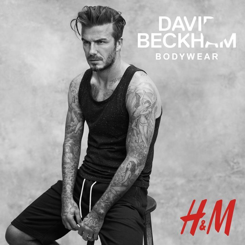 H&M David Beckham Bodywear 2015 Spring/Summer 2015