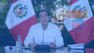 """Martín Vizcarra anuncia que el 8 de octubre será día laborable: """"La patria lo necesita"""""""