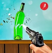 3D Bottle Target Shooting Game