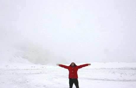 Athabasca Glacier, Alberta, Jasper, Canadá