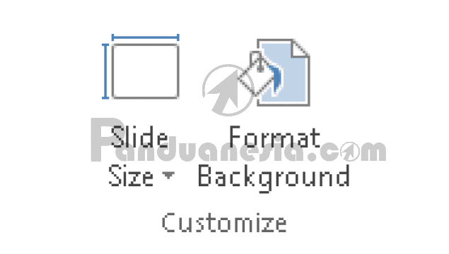Fungsi Icon Tab Menu Design PowerPoint