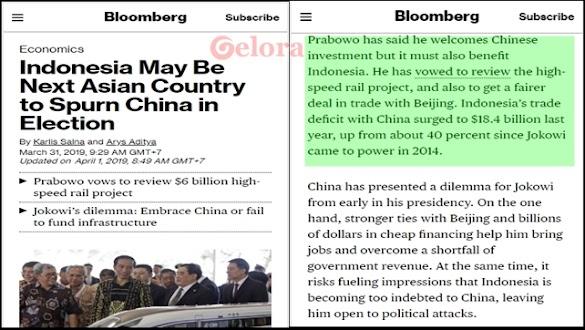 Prabowo Menang, Utang dan Proyek China akan Ditinjau Ulang