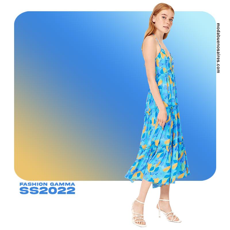 moda mujer ropa colores de moda 2022 celestes