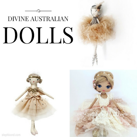 The most divine Australian dolls