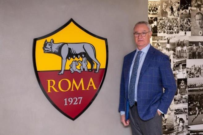 Officially .. Ranieri a coach of Rome