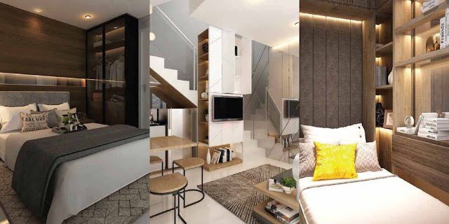 desain interior aparthouse crsytal