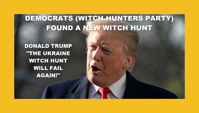 Memes: DEMOCRATS (WITCH HUNTERS PARTY) FOUND A NEW WITCH HUNT