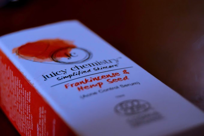 Juicy Chemistry Frankincense and Hemp Seed Oil Review