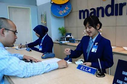 Penerimaan Calon Karyawan BUMN PT. Bank Mandiri (Persero) Untuk Lulusan D3/S1 Hingga 31 Oktober 2019