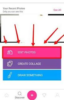 cara menghilangkan objek di picsart