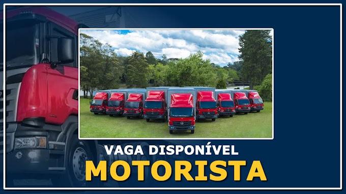 Transportadora Garibaldi abre vagas para motorista entregador