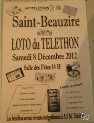 Téléthon 2012, Saint Beauzire