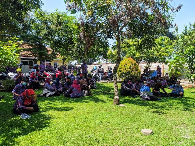 Oknum LSM Diduga Peras Kades, Puluhan Perangkat Desa Datangi Mapolres Banyumas