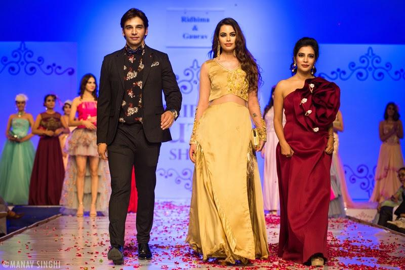 Ridhima Godha – Gaurav Gaur at Jaipur Couture Show.