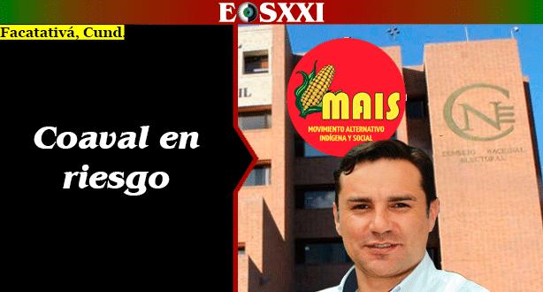 Coaval de Mais a Diego Garzón y la lista al Concejo, cuestionado en el Consejo Nacional Electoral