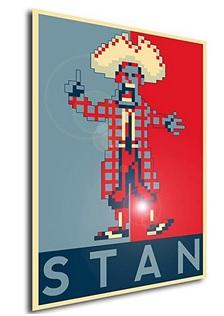 Póster Monkey Island - Stan