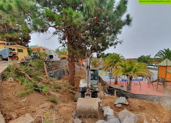 Avanzan las obras de la tercera y última fase del Parque Barbarroja en Tijarafe