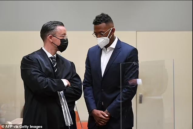 Kevin-Prince Boateng's brother, Jerome Boateng is fined £1.5m after being convicted of biting and punching the mother of his twin daughters