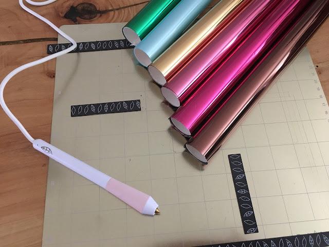 foil quill, foil quill freehand pen, magnetic mat, foil quill pens, foil quill handheld pen