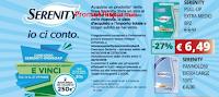 Logo Serenity ''Io ci conto'': vinci 100 buoni spesa Ipersoap da 20€ e 2 da 250€