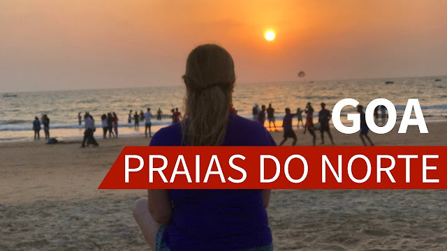 Goa e as praias do norte