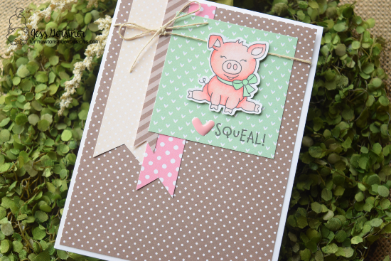Squeal by Jess features Oink by Newton's Nook Designs; #newtonsnook