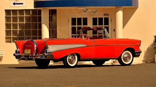 1957 Chevrolet Bel Air Convertible Rear Right