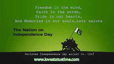 14 august Whatsapp status happy independence day