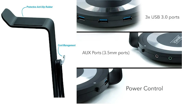 Headphone Charging Stand Holder Review