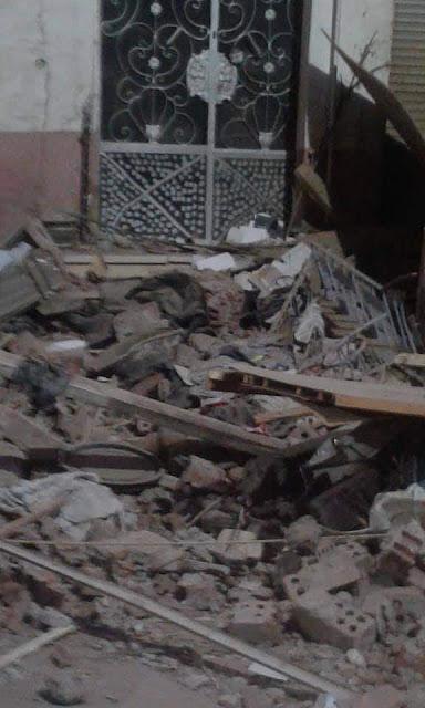 إصابة 6 أشخاص في انفجار داخل شقة بجرجا فى سوهاج  نتيجة تسرب غاز