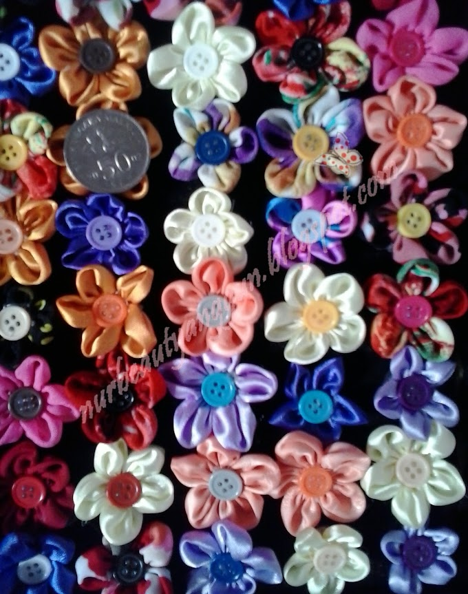 Brooch Kain..... Assorted Colours!