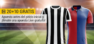 bwin promocion Juventus vs Génova 22 enero
