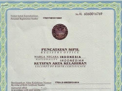Cara membuat akta kelahiran Disdukcapil Kabupaten Bandung