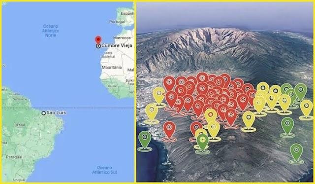 Vulcão capaz de gerar tsunami na Bahia entra em alerta de erupção