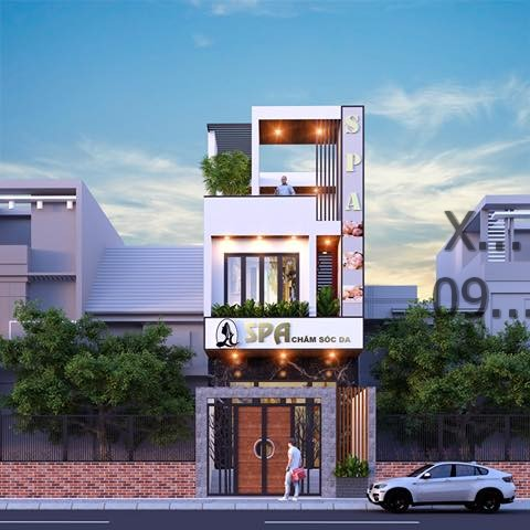 Mẫu nhà phố 3 tầng đẹp nhất