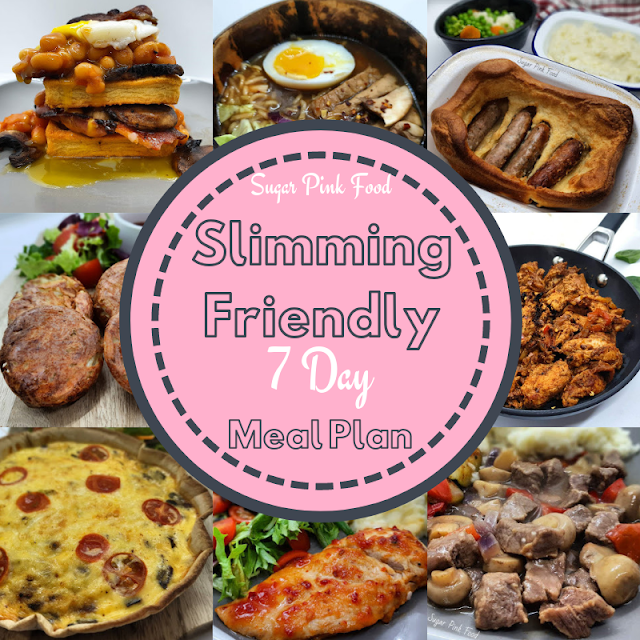 Slimming Friendly 7 Day Meal Plan 5