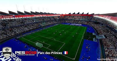 PES 2019 Stadium Parc des Princes Converted from FIFA by Arthur Torres