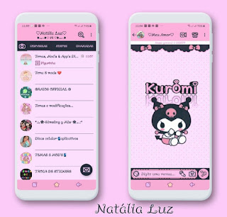 Kuromi Theme For YOWhatsApp & Fouad WhatsApp By Natalia Luz
