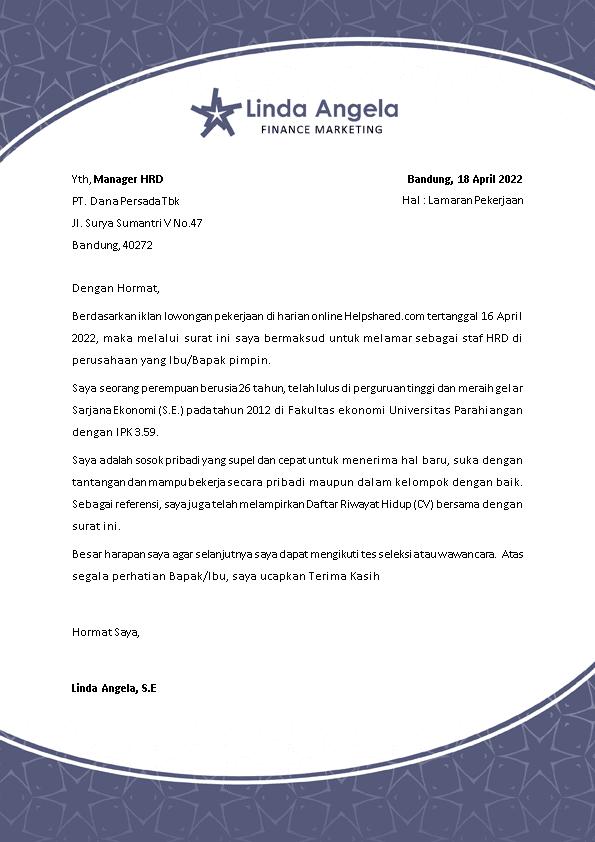 Kop Surat Lamaran Kerja 27
