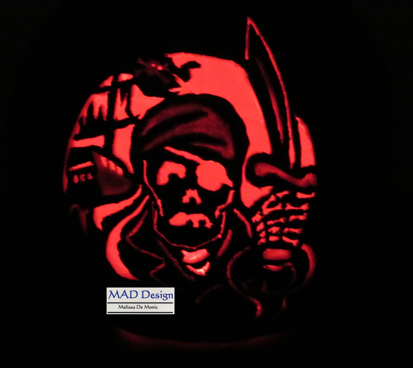 2015 1st carved Halloween pumpkin