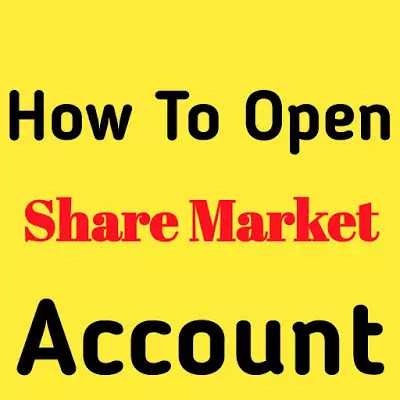 How To Open Share Market Account